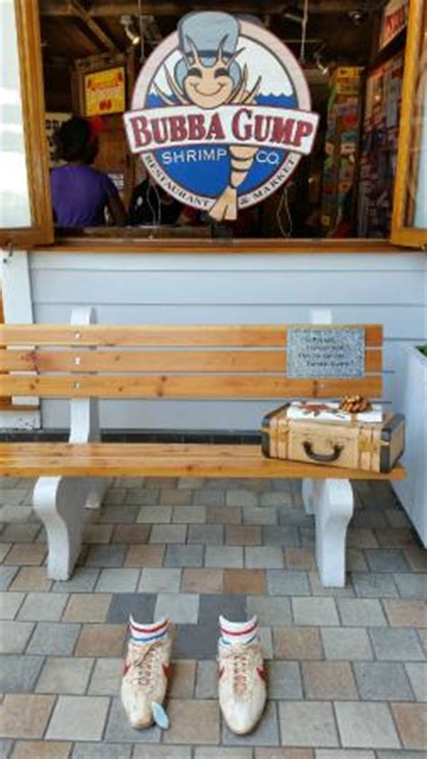 bubba gump bench forrest bench picture of bubba gump shrimp co honolulu tripadvisor
