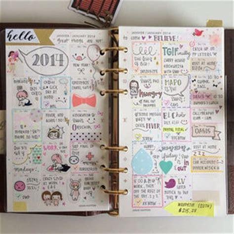 Kalender Cupang Hias 2018 2016手帳 中身も女子力 強 かわいい使い方 おしゃれな書き方まとめ 美人部 てちょー bullet filofax and planners