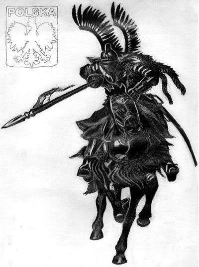 polish winged hussar husaria by ewablackwidowvshare on