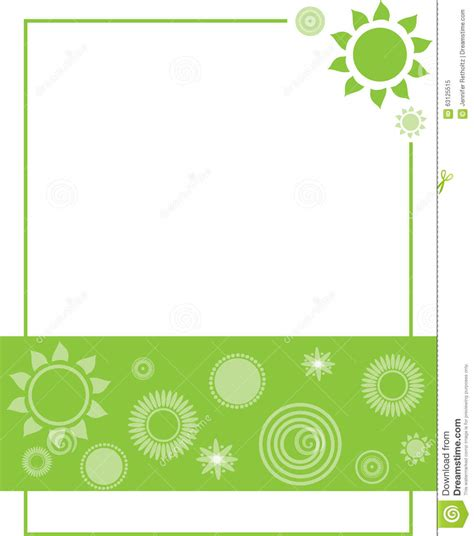 invitation card design template free green green flower invitation border background stock