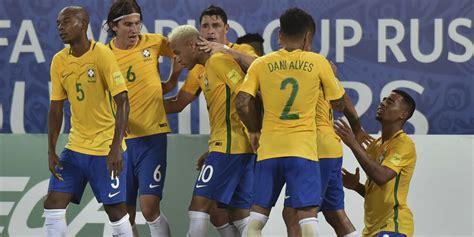highlights kualifikasi piala dunia 2018 brasil 5 0