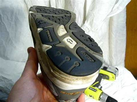 screws in running shoes how i add screws to my running shoes for traction on