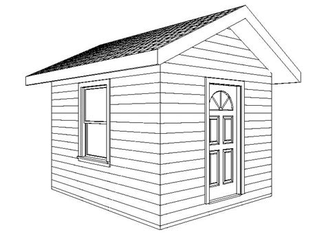 shed plans add space   wood garden shed