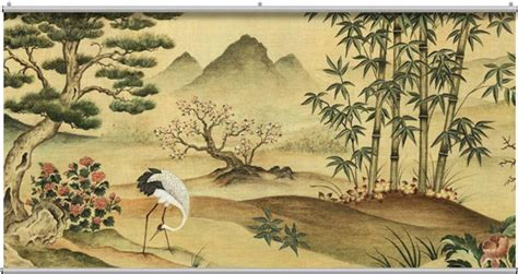 asian wall mural landscape minute mural