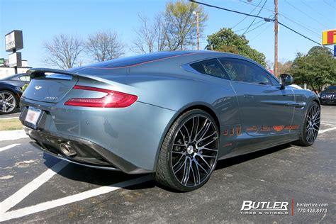 custom aston martin vanquish aston martin vanquish with 22in savini bm13 wheels