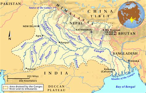 ganges river map litr pages craig white uhcl images
