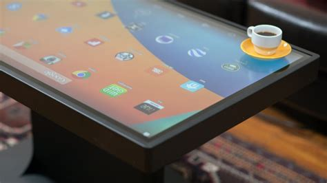 android table ideum duet smart table now running both android and windows 8 android community