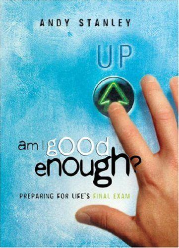lifechange books andy stanley am i enough preparing for s