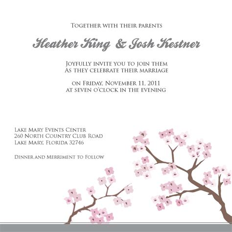 wedding invitations templates word engagement invitation word templates free card