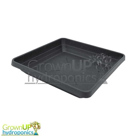 black square plant pots heavy duty square black plant pot saucers various sizes