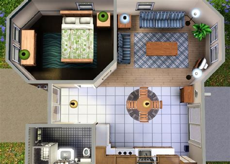 starter house plans mod the sims quot ledomus quot starter home plan 2 no cc