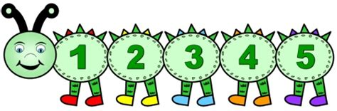 free printable caterpillar number line printable number line 1 10