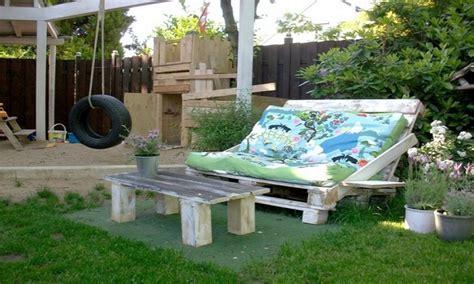 arredo giardino con pallet mobili con pallet tante soluzioni di riciclo per l