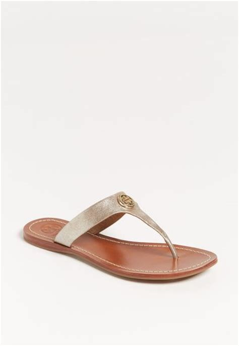burch silver sandals burch cameron sandal exclusive color in silver royal