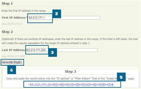 regex pattern ip address excluding your and your team s traffic in google analytics