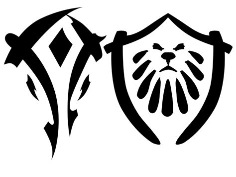 logo horde tattoo horde alliance logos by vstewart on deviantart