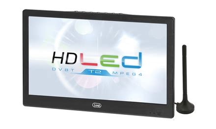 Promo Lu Led Portable Lu Senter Lu Portable trevi tv portable 224 led avec lecteur dvd int 233 gr 233 grand