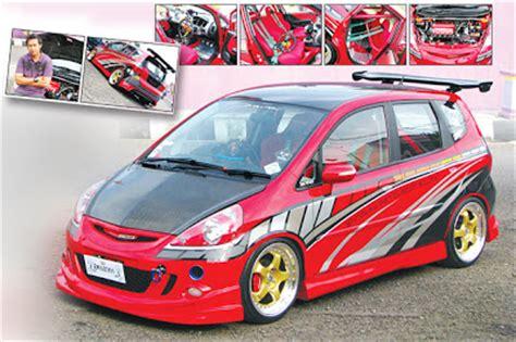 Kursi St Racing honda jazz modifikasi racing style syakeela