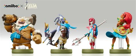 Amiibo Mipha The Legend Of Breath Of The all the legend of breath of the amiibo unlocks guide nintendo