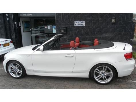 used white bmw 1 series for sale used 2009 bmw 1 series convertible 118i m sport petrol for