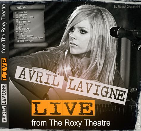 avril lavigne dont tell me live in theatre avril lavigne live at theatre 2007 cd audio by