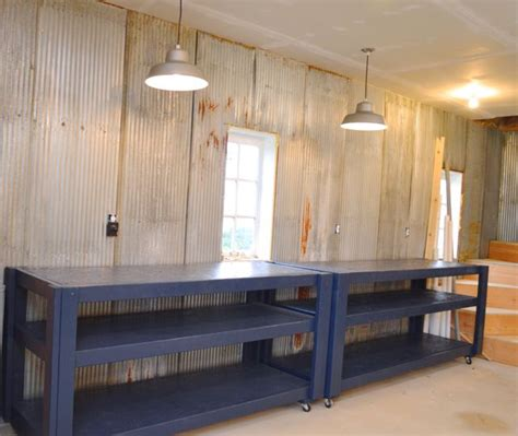 Diy Home Decor Project Ideas Barn Rolling Workbenches In Behr Starless Night