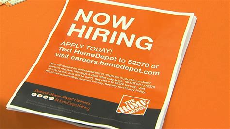 home depot holds job fairs thursday   hire