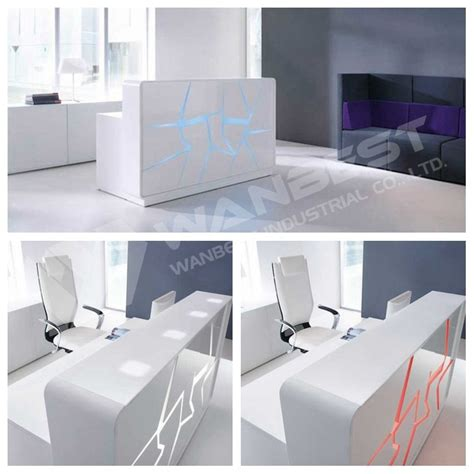 Marble Reception Desk Solid Surface Curved White Artifical Marble Reception Counter Desk Buy Reception