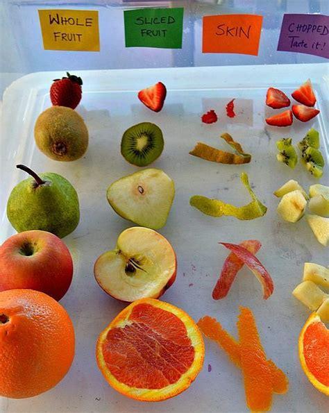 giochi educazione alimentare educazione alimentare gioco sensoriale con la frutta