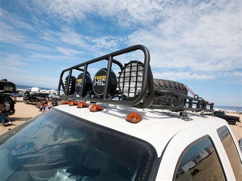 Truck Roof Rack With Light Bar by Road Unlimited Roof Rack Ford Duty Storage
