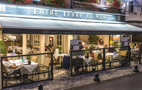 restaurant mer restaurant entre terre et mer restaurants en normandie