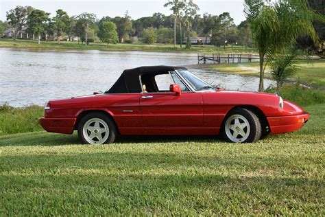 1991 Alfa Romeo Spider For Sale by 1991 Alfa Romeo Spider For Sale 1957138 Hemmings Motor News
