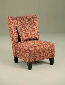 Patterned Armchair Design Ideas Armless Accent Chair With And Gold Cover Pattern Color Plus Wooden Leg Ideas