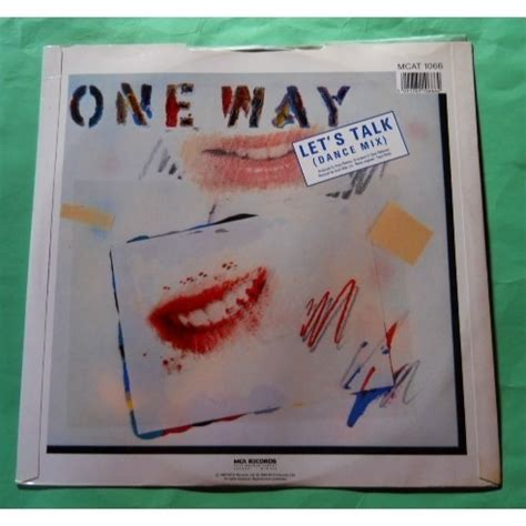 Lets Talk About Mr Right by Mr Groove Let S Talk By One Way 12inch With Soulnfunk