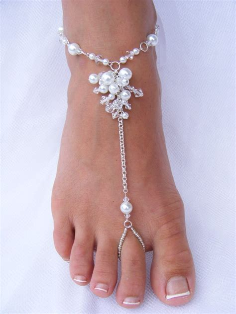 how to make foot jewelry soleless sandals foot jewelry wedding barefoot