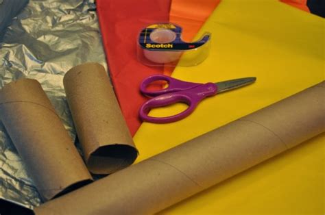 How To Make A Paper Torch - olympics torch craft for
