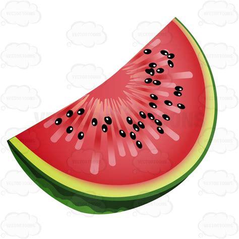 watermelon emoji slice of watermelon with seeds vector clip art cartoon