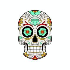 Mexikanischer Totenkopf Aufkleber by Calavera Mexicana Para Colorear Der Tod In Seiner