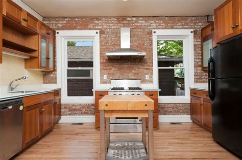 accent wall ideas for kitchen 47 brick kitchen design ideas tile backsplash accent