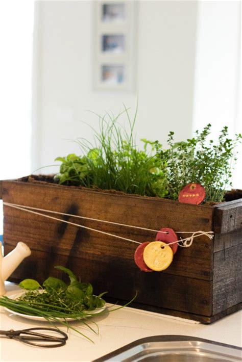 diy herb planter diy herb planter box gift idea planning with