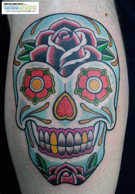traditional skull tattoo designs 17 best images about sugar skulls on sugar