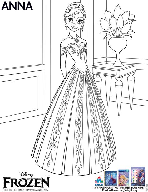 frozen coloring pages free large images