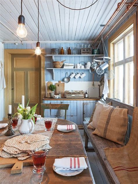 rustic farmhouse kitchen a cottage in the country