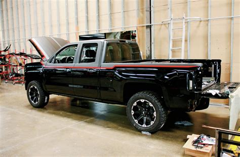 customized chevy trucks building a custom bed for a 2014 chevy silverado