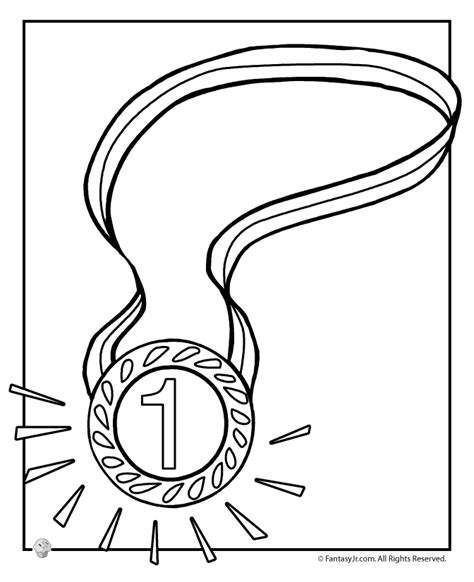 olympic medal coloring page az coloring pages