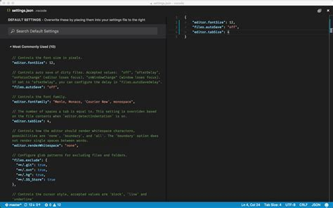 default setter c 設定 非公式 visual studio code docs