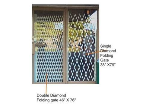 Patio Door Folding Security Gates by 102 Best Security Gate Folding Gate Collapsible Gate