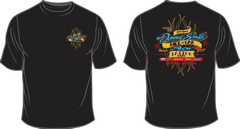 2018 donnie smith bike show event t shirt