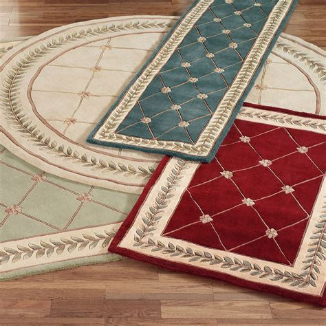 Running Rugs by Floral Trellis Rug Runners