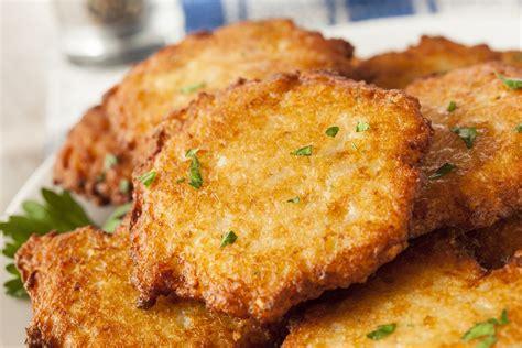 classic potato pancakes recipe epicurious com